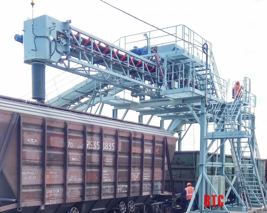 Производство конвейеров для погрузки вагонов и хопперов