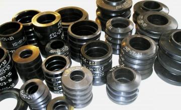 Резиновые кольца футеровки роликов конвейеров